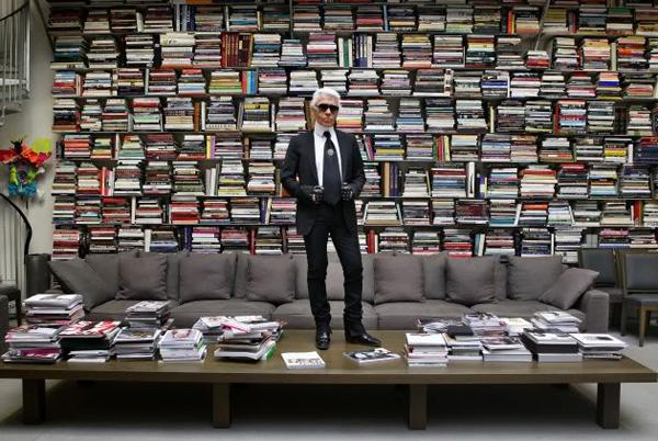 karl-lagerfeld-book-wall